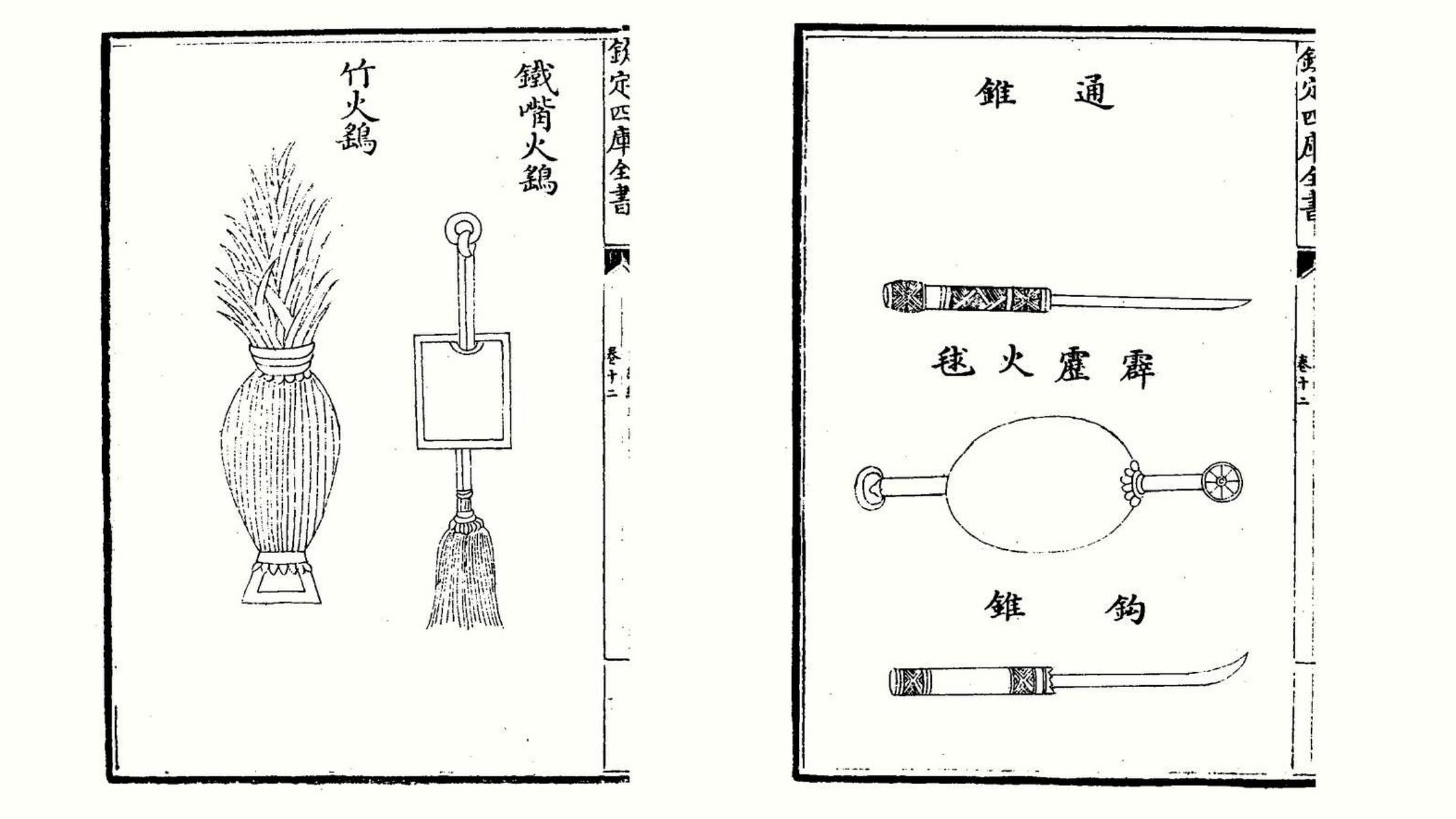 Bomba de fuego y granada de fuego. China. s. XI